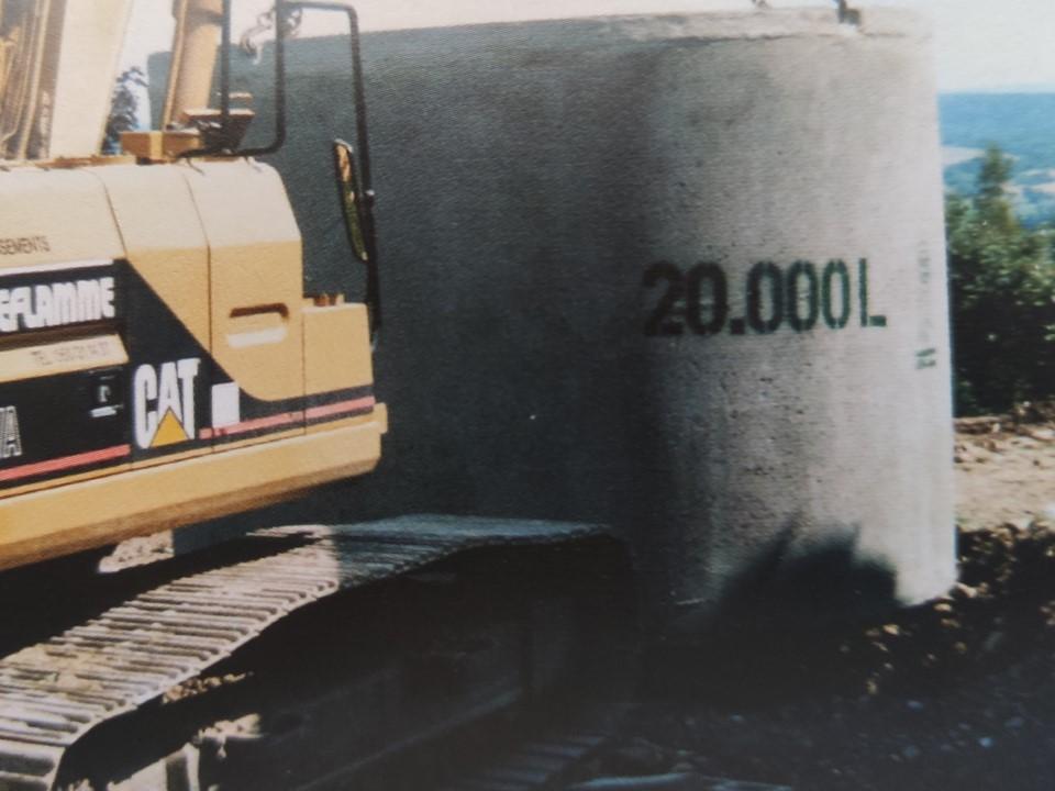 Citerne 20000 litres